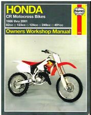 HONDA CR250 CR 250 Owners Workshop Service Repair Parts Manual PDF CD-R ELISNORE