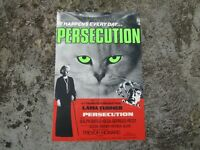 Vintage Movie poster - Original - Persecution - 101 x 75 cm -1974 Horror