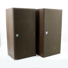 Coppia casse speaker RCF BR1042 diffusori acustici finitura legno 64 x 32 x 27