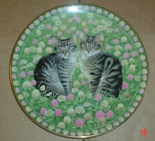 Aynsley MAY MUPPET AND EMU From MEET MY KITTENS Cat Collectors Plate