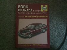 Ford Granada/Scorpio petrol Haynes workshop manual