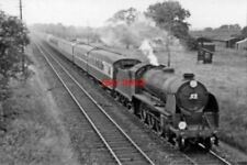 PHOTO  SR N15 LOCO 30805 SIR CONSTANTINE 1956 NEAR PADDOCK WOOD 14.15 CHARING CR