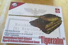"Model Collect, Fist of War,German Heavy Tank E-75,Tiger III. "" Tigerzahn"" 1;35"
