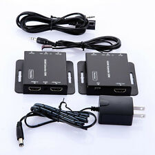 50m HDMI Extender Transmitter Receiver with IR cat5e/6 Ethernet Cable 3D 1080P