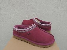 UGG TASMAN BOUGAINVILLEA SUEDE/ SHEEPSKIN SLIPPERS/ SHOES, US 10/ EUR 41 ~NIB