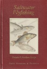 MORGAN PAUL BOOK SALTWATER FLYFISHING IN BRITAIN & NORTHERN EUROPE BASS de luxe