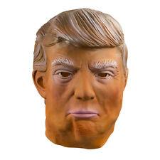 Halloween Donald Trump Overhead Latex Mask Funny Republican Party The Apprentice