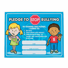 Anti-Bully Pledge Certificates - Stationery - 25 Pieces