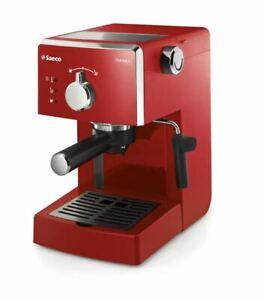 PHILIPS Saeco Poemia Macchina da caffè HD8423/11 950W rosso Ricondizionato