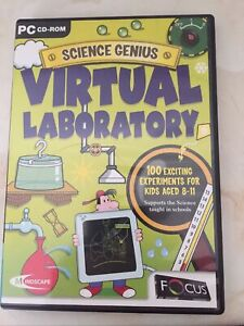 Science Genius Virtual Laboratory (CD-ROM), 8-11, Experiments, PC, Educational