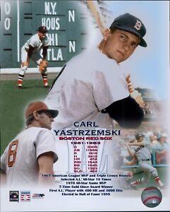 Carl Yastrzemski Boston Red Sox Licensed Unsigned Glossy 8x10 Photo MLB (C)