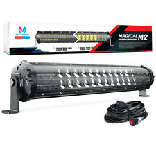 MICTUNING M2 19inch 108w LED Light Bar Pod Dual Row OffRoad Driving Lamp 8460lm