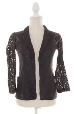 Dorothy Perkins Lightweight Gray Lace Jacket / Blazer Size 6