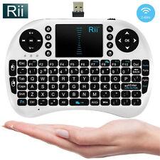 2.4Ghz Rii Mini i8 Wireless Keyboard Touchpad for PC Pad Google Andriod TV Box
