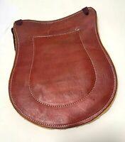 Charro Saddle Leather Seat Cushion, Asiento De Cuero Para Montura Horse Gear