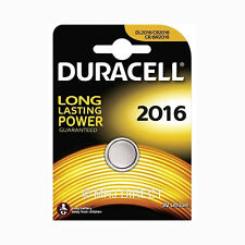 Duracell CR2016 Remote Key Fob Car Alarm Compatible Batteries Use Exp Date 2025