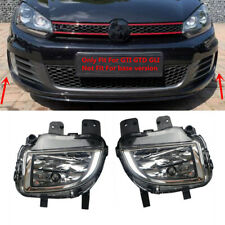 Bumper Halogen Fog Lights L&R Fit For Volkswagen Golf-GTI GTD Jetta-GLI MK6 VI