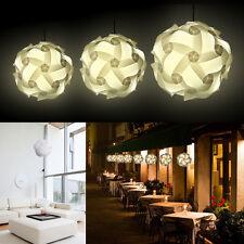 White IQ Light Lamp Shade Modern Design Deco Puzzle Jigsaw ZElight: ?25/30/40 cm