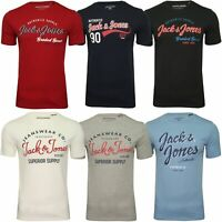 Mens Jack & Jones 'JJELOGO' Short Sleeve T-Shirt