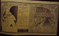 BEVIS FROND Uncut Original 'Inner Marshland' Woronzow LP PRINTERS PROOF SIGNED