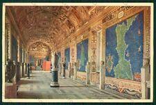 Roma Città del Vaticano Mappe Maps FG cartolina VK2156