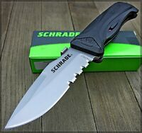 Schrade Assisted Open MAGIC AUS-8 Blade Tactical Rescue Folding Pocket Knife NEW