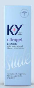 KY K-Y UltraGel Personal Lubricant 4.5 oz premium WaterBase Exp 06/2022