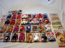 Lot of 33 Ronald McDonald's House Charities Teenie Beanie Babies Full Sets +
