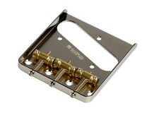Gotoh In-Tune Vintage Telecaster Tele Style Guitar Bridge • Chrome BS-TC1