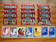 13 paquetes de Topps Match Attax Inglaterra 2010 Trading Cards. Baresi Alves Valdez