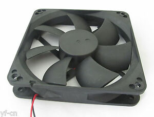 1pc Brushless DC Cooling Fan 120x120x25mm 120mm 12025 7 blades 5V 12V 24V 2pin