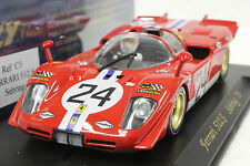 FLY C5 FERRARI 512S SEBRING 1970 NEW 1/32 SLOT CAR IN DISPLAY