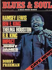 Marvin Gaye on Blues & Soul Issue No 208 Cover 1976     B.B.King  Thelma Houston