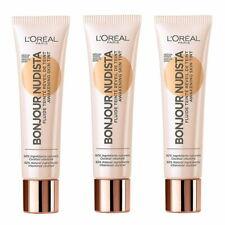 3 x MEDIUM DARK L'Oreal Bonjour Nudista BB CREAM Awakening Skin Tint ❤