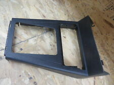 MERCURY CAPRI 94 1994 CENTER CONSOLE HOUSING CONSOLE FRONT SECTION  black