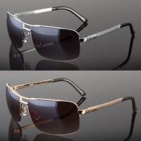 New Men Classic Sunglasses Metal Driving Glasses Aviator Outdoor Sports Uv400