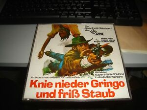 film in SUPER8 - KNIE NIEDER GRINGO UND FRIB STAUB con FABIO TESTI - 1972/73