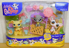 475 476 477 cuddliest Littlest Pet shop pet Lovin Zoo farm animals NEW