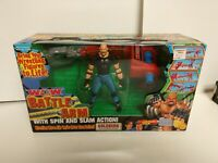 WCW Bill Goldberg ToyBiz Battle Arm Set Spin Slam WWE WWF Toy Biz Complete