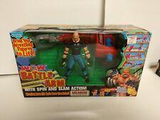 WCW Bill Goldberg ToyBiz Battle Arm Set Spin Slam WWE WWF Toy Biz Complete