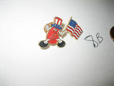 VINTAGE The Jelly Belly Candy Company American Flag PIN BADGE HERMAN GOELITZ CO.