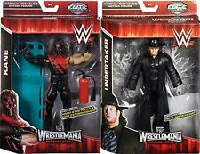 WWE KANE & la IMPRESARIO DI POMPE FUNEBRI WRESTLEMANIA 31 Elite Mattel Wrestling Action figura