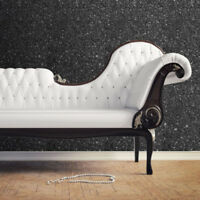 Muriva Textured Sparkle Glitter Effect Modern Feature  5 Colours Wallpaper