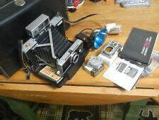 Vtg Polaroid Automatic 250 Land Camera w/ Manual UV / Cloud Filters #268 Flash