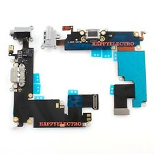 GRAY Charger Charging Port Dock Headphone Jack Flex Cable for iPhone 6 Plus 5.5""