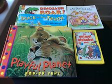 Early Learning Animal Reading Books - 5 USED Books