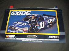 2011 JAMES BUESCHER #31 EXIDE BATTERIES NASCAR POSTCARD