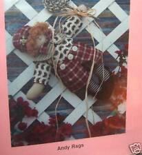 Country Primitive Raggedy Andy Doll Pattern preim boy