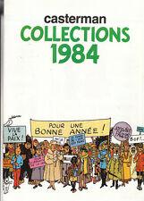 Catalogue Casterman Collections 1984. Hergé