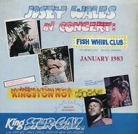 KING STUR GAV JOSEY WALES NEGRIL 1983 LIVE CD
